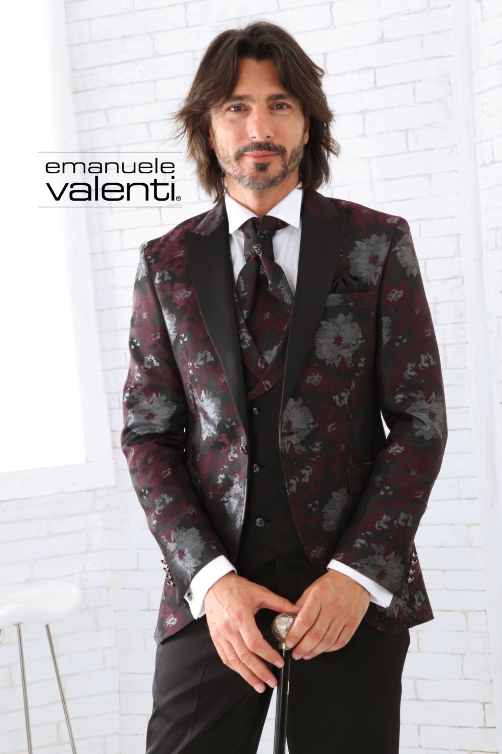 Emanuele Valenti abito da sposo