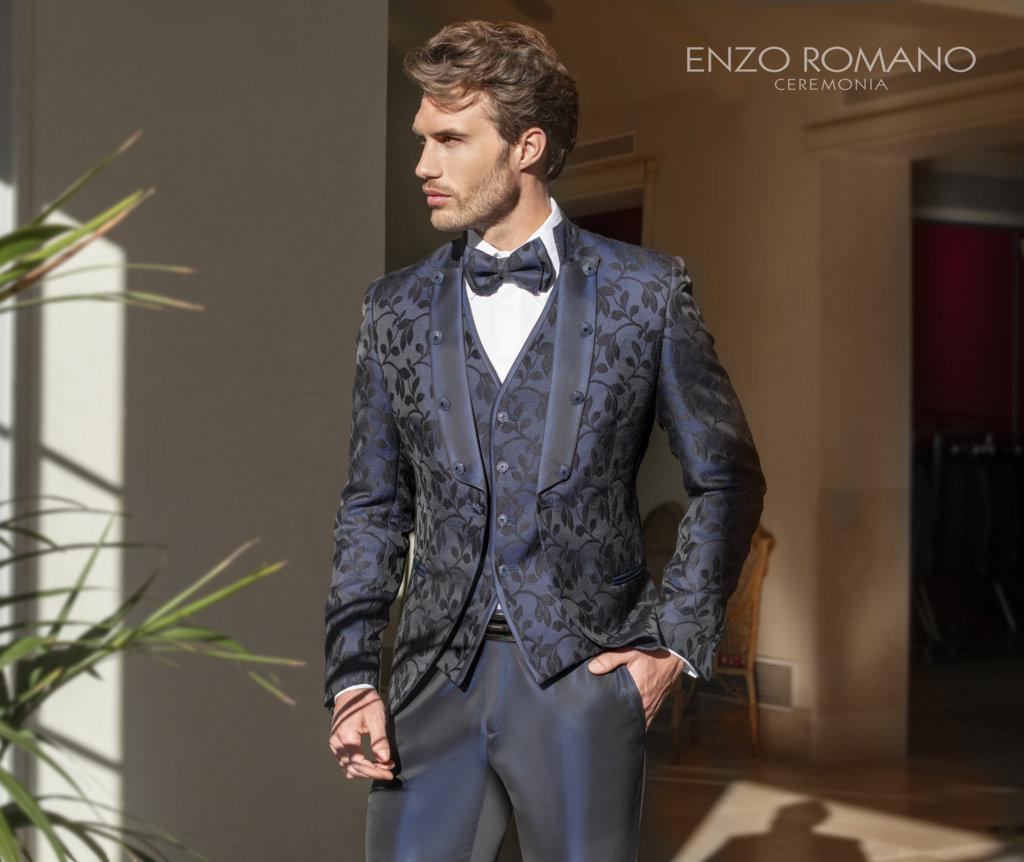 Enzo Romano abito da sposo
